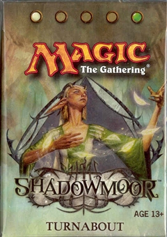 Magic the Gathering Shadowmoor Precon Turnabout Theme Deck
