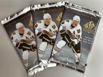 2007/08 Upper Deck SP Authentic Hockey Hobby Pack
