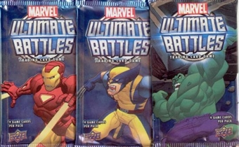Upper Deck Marvel Ultimate Battles Booster Pack