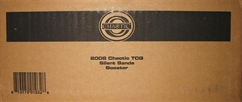 Chaotic Silent Sands Booster 12-Box Case