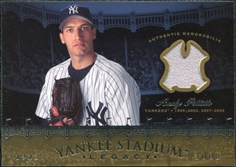 2008 Upper Deck Yankee Stadium Legacy Collection Memorabilia #AP Andy Pettitte