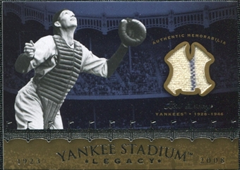 2008 Upper Deck Yankee Stadium Legacy Collection Memorabilia #BD Bill Dickey