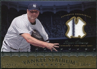 2008 Upper Deck Yankee Stadium Legacy Collection Memorabilia #CL Roger Clemens