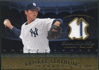 2008 Upper Deck Yankee Stadium Legacy Collection Memorabilia #CW Chien-Ming Wang