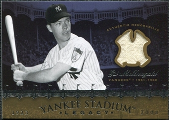 2008 Upper Deck Yankee Stadium Legacy Collection Memorabilia #GM Gil McDougald
