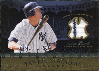 2008 Upper Deck Yankee Stadium Legacy Collection Memorabilia #JG Jason Giambi