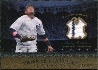 2008 Upper Deck Yankee Stadium Legacy Collection Memorabilia #MC Melky Cabrera