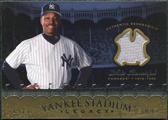 2008 Upper Deck Yankee Stadium Legacy Collection Memorabilia #WR Willie Randolph