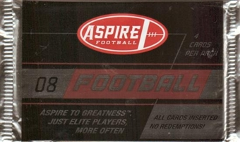 2008 Sage Aspire Football Hobby Pack