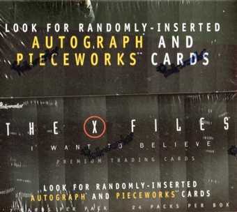 "X-Files ""I Want to Believe"" Movie Hobby Box (2008 InkWorks)"