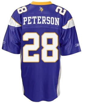 Adrian Peterson Minnesota Vikings Purple Reebok Premier Jersey (Adult XL)