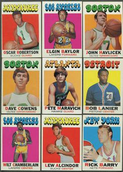 1971/72 Topps Basketball Partial Set (EX-MT)
