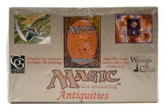 Magic the Gathering Antiquities Booster Box - OUT OF PRINT, VERY RARE!