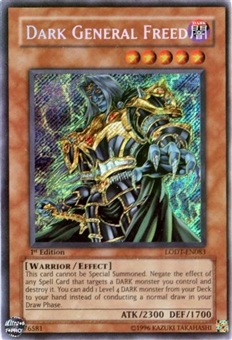 Yu-Gi-Oh Light of Destruction Single Dark General Freed Secret Rare (LODT-EN083)