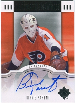 2007/08 Upper Deck Ultimate Collection Signatures #USBP Bernie Parent Autograph