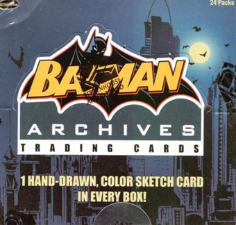 Batman Archives Trading Cards Box (Rittenhouse 2008)