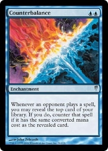 Magic the Gathering Coldsnap Single Counterbalance - SLIGHT PLAY (SP)