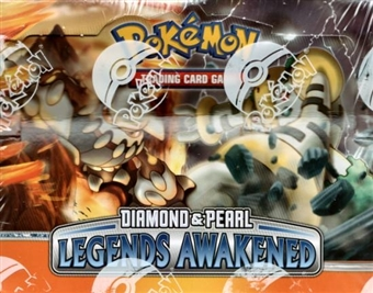 Pokemon Diamond & Pearl Legends Awakened Theme Deck Box