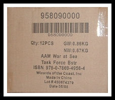 Axis & Allies Miniatures War at Sea Task Force Booster Case (12 ct.) 95809