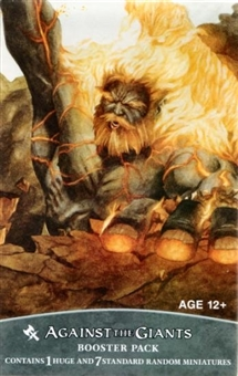 WOTC Dungeons & Dragons Miniatures Against the Giants Booster Pack