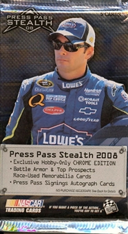 2008 Press Pass Stealth Racing Hobby Pack