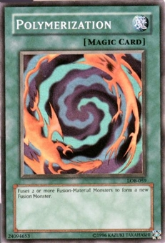 Yu-Gi-Oh BEWD Single Polymerization Super Rare (LOB-059)