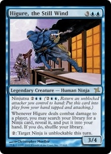 Magic the Gathering Betrayers of Kami Single Higure, the Still Wind Foil