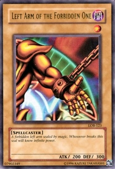 Yu-Gi-Oh BEWD Single Left Arm Of The Forbidden One Ultra Rare (LOB-123)