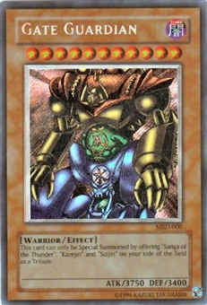 Yu-Gi-Oh Metal Raiders Single Gate Guardian Secret Rare (MRD-000)