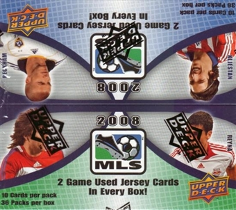 2008 Upper Deck MLS Major League Soccer Box