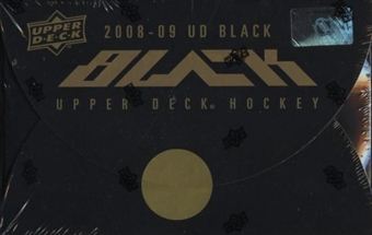 2008/09 Upper Deck Black Hockey Hobby Box