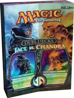 Magic the Gathering Jace Vs. Chandra Duel Deck (Ex-Box Mt-Pack)