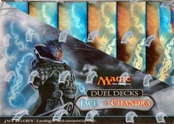 Magic the Gathering Jace Vs. Chandra Duel Deck Box
