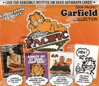 Garfield Collection Celebrating 25 Years Hobby Box (2004 Pacific)