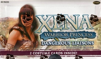 Xena Warrior Princess Dangerous Liaisons Trading Cards Box (Rittenhouse 2007)