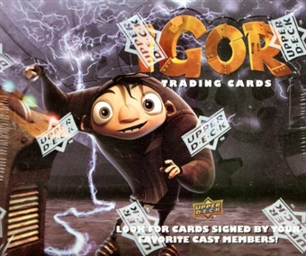 Igor Trading Cards Hobby Box (2008 Upper Deck)
