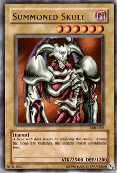 Yu-Gi-Oh Metal Raiders Single Summoned Skull Ultra Rare (MRD-003)