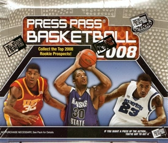 2008/09 Press Pass Basketball Hobby Pack