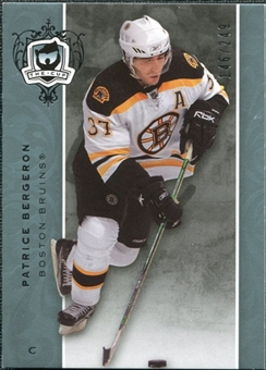 2007/08 Upper Deck The Cup #89 Patrice Bergeron /249