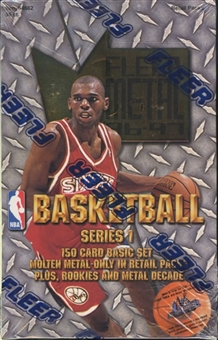 1996/97 Skybox Metal Series 1 Basketball Retail Box