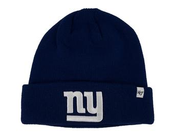 New York Giants '47 Brand Royal Blue Raised Cuff Knit Winter Hat (Adult One Size)