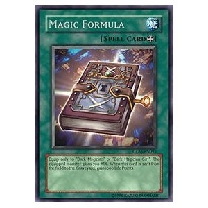 Yu-Gi-Oh Gladiator's Assault 1st Edition Single Magic Formula Secret Rare