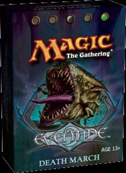 Magic the Gathering Eventide Death March Precon Theme Deck