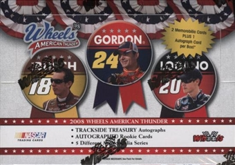 2008 Press Pass Wheels American Thunder Racing Hobby Box