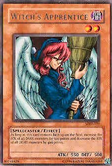 Yu-Gi-Oh Metal Raiders Single Witch's Apprentice Rare (MRD-121)