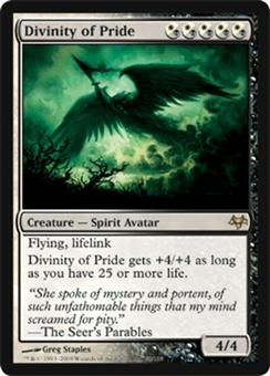 Magic the Gathering Eventide Single Divinity of Pride - NEAR MINT (NM)