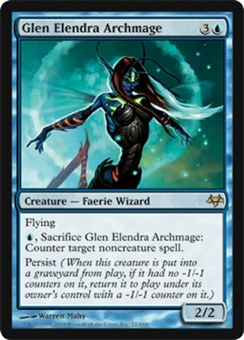 Magic the Gathering Eventide Single Glen Elendra Archmage Foil