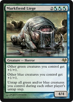 Magic the Gathering Eventide Single Murkfiend Liege Foil
