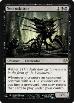 Magic the Gathering Eventide Single Necroskitter UNPLAYED (NM/MT)