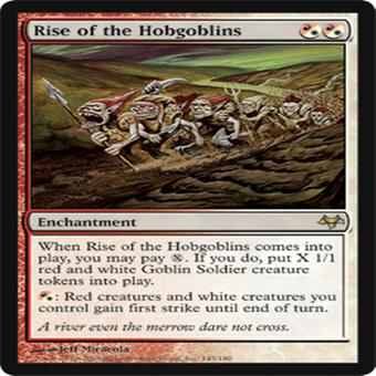 Magic the Gathering Eventide Single Rise of the Hobgoblins - NEAR MINT (NM)